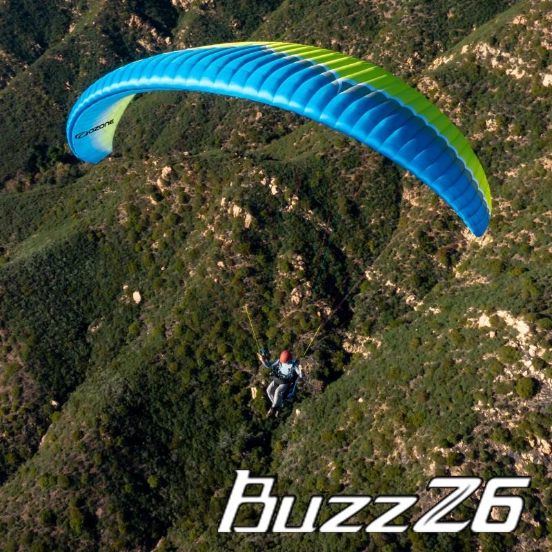 Ozone Buzz Z6 LTF/EN-B siklóernyő - Pro-Design Hungary Kereskedelmi és  Szolgáltató Kft
