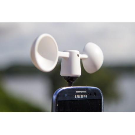 Vaavud szélmérő okostelefonhoz